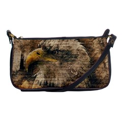Vintage Eagle  Shoulder Clutch Bags by Valentinaart