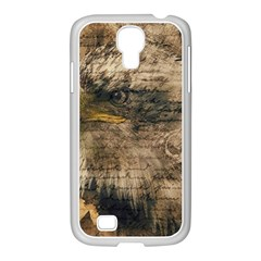 Vintage Eagle  Samsung Galaxy S4 I9500/ I9505 Case (white) by Valentinaart