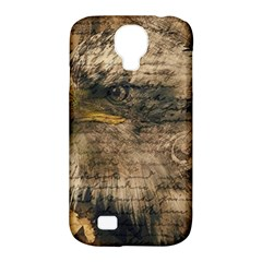 Vintage Eagle  Samsung Galaxy S4 Classic Hardshell Case (pc+silicone) by Valentinaart