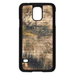 Vintage Eagle  Samsung Galaxy S5 Case (black) by Valentinaart