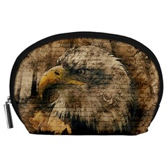 Vintage Eagle  Accessory Pouches (large)  by Valentinaart