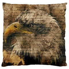 Vintage Eagle  Standard Flano Cushion Case (two Sides) by Valentinaart