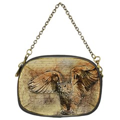 Vintage Owl Chain Purses (two Sides)  by Valentinaart