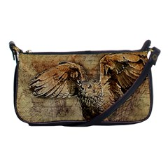 Vintage Owl Shoulder Clutch Bags by Valentinaart
