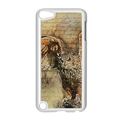 Vintage Owl Apple Ipod Touch 5 Case (white) by Valentinaart
