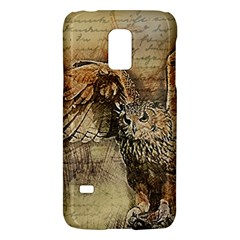 Vintage Owl Galaxy S5 Mini by Valentinaart