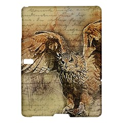 Vintage Owl Samsung Galaxy Tab S (10 5 ) Hardshell Case  by Valentinaart