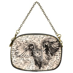 Vintage Owl Chain Purses (one Side)  by Valentinaart