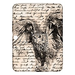 Vintage Owl Samsung Galaxy Tab 3 (10 1 ) P5200 Hardshell Case  by Valentinaart