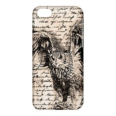 Vintage Owl Apple Iphone 5c Hardshell Case