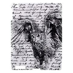 Vintage Owl Apple Ipad 3/4 Hardshell Case by Valentinaart