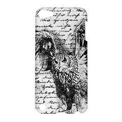 Vintage Owl Apple Ipod Touch 5 Hardshell Case by Valentinaart