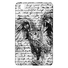 Vintage Owl Samsung Galaxy Tab Pro 8 4 Hardshell Case by Valentinaart