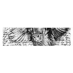 Vintage Owl Satin Scarf (oblong) by Valentinaart