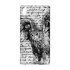 Vintage Owl Sony Xperia Z3+ by Valentinaart