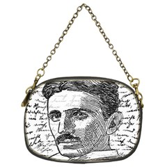 Nikola Tesla Chain Purses (two Sides)  by Valentinaart