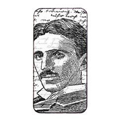 Nikola Tesla Apple Iphone 4/4s Seamless Case (black) by Valentinaart