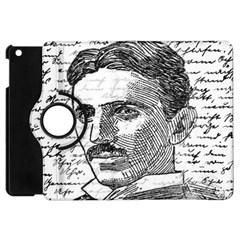 Nikola Tesla Apple Ipad Mini Flip 360 Case by Valentinaart