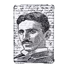 Nikola Tesla Apple Ipad Mini Hardshell Case (compatible With Smart Cover) by Valentinaart