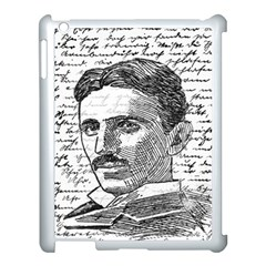 Nikola Tesla Apple Ipad 3/4 Case (white) by Valentinaart