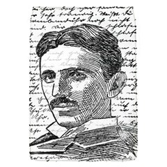 Nikola Tesla Flap Covers (s)  by Valentinaart