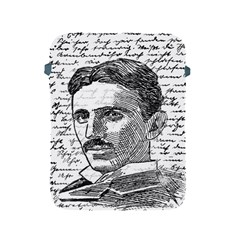Nikola Tesla Apple Ipad 2/3/4 Protective Soft Cases by Valentinaart