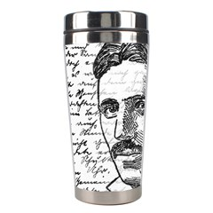 Nikola Tesla Stainless Steel Travel Tumblers by Valentinaart