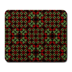 Asian Ornate Patchwork Pattern Large Mousepads by dflcprints