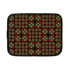 Asian Ornate Patchwork Pattern Netbook Case (small)  by dflcprints