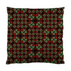 Asian Ornate Patchwork Pattern Standard Cushion Case (one Side) by dflcprints