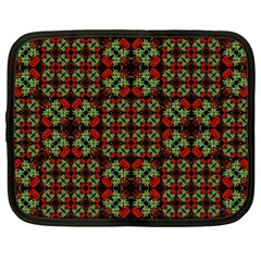Asian Ornate Patchwork Pattern Netbook Case (xl)  by dflcprints