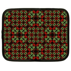 Asian Ornate Patchwork Pattern Netbook Case (xxl)  by dflcprints