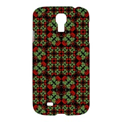 Asian Ornate Patchwork Pattern Samsung Galaxy S4 I9500/i9505 Hardshell Case by dflcprints