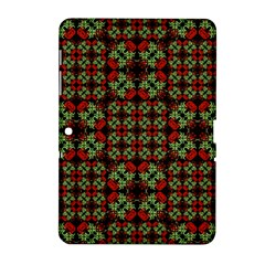 Asian Ornate Patchwork Pattern Samsung Galaxy Tab 2 (10 1 ) P5100 Hardshell Case  by dflcprints