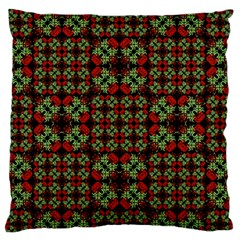 Asian Ornate Patchwork Pattern Standard Flano Cushion Case (one Side) by dflcprints