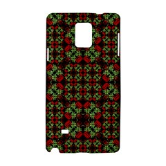 Asian Ornate Patchwork Pattern Samsung Galaxy Note 4 Hardshell Case by dflcprints
