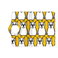 Yellow Owl Background Kindle Fire Hd (2013) Flip 360 Case by Simbadda
