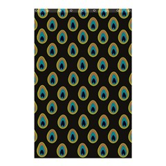 Peacock Inspired Background Shower Curtain 48  X 72  (small)