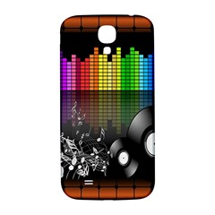 Music Pattern Samsung Galaxy S4 I9500/i9505  Hardshell Back Case by Simbadda
