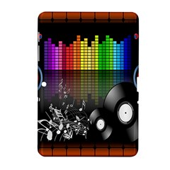 Music Pattern Samsung Galaxy Tab 2 (10 1 ) P5100 Hardshell Case  by Simbadda
