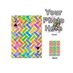Abstract Pattern Colorful Wallpaper Playing Cards 54 (mini)  by Simbadda