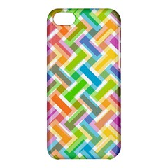 Abstract Pattern Colorful Wallpaper Apple Iphone 5c Hardshell Case by Simbadda