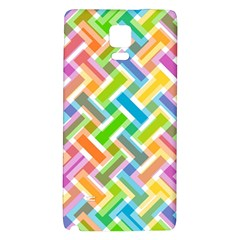 Abstract Pattern Colorful Wallpaper Galaxy Note 4 Back Case