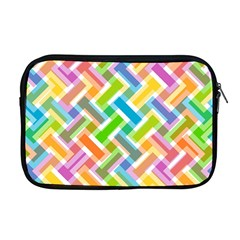 Abstract Pattern Colorful Wallpaper Apple Macbook Pro 17  Zipper Case by Simbadda