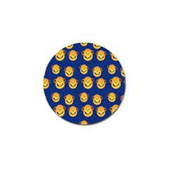 Monkeys Seamless Pattern Golf Ball Marker (4 Pack) by Simbadda