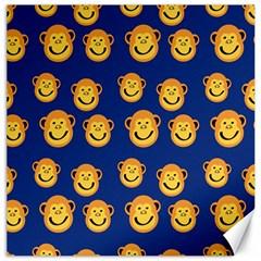 Monkeys Seamless Pattern Canvas 20  X 20   by Simbadda