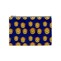 Monkeys Seamless Pattern Cosmetic Bag (medium)  by Simbadda