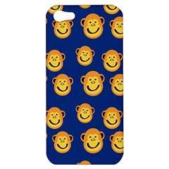 Monkeys Seamless Pattern Apple Iphone 5 Hardshell Case by Simbadda