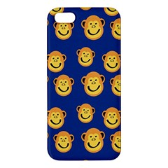 Monkeys Seamless Pattern Iphone 5s/ Se Premium Hardshell Case by Simbadda