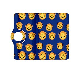 Monkeys Seamless Pattern Kindle Fire Hdx 8 9  Flip 360 Case by Simbadda